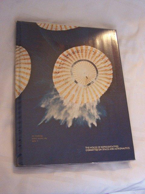 38: History/Year Book on the USS Ticonderoga NASA