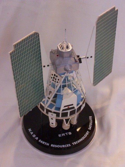 50: Rare NASA Satellite GE Contractor Desk Model