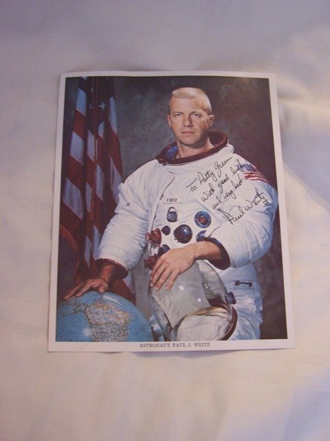 52: Signed Color  Litho by Astronaut Paul J. Weitz