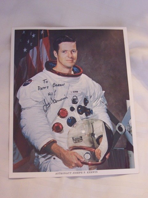53: Signed Color  Litho by Astronaut Joseph P. Kerwin
