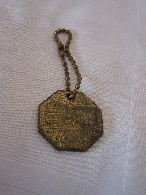 54: National Baseball Hall of Fame 1939 Key Chain