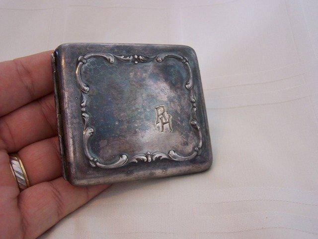 55: Silver Cigarette Case