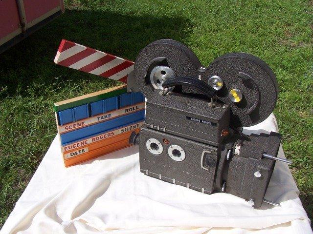 241: Rare Auricon Pro 600 Electromatic Tyake-Up Camera