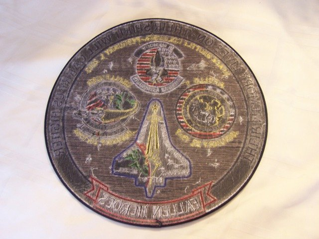 266: Fallen Heroes Large NASA Patch Apollo, Challenger, - 2