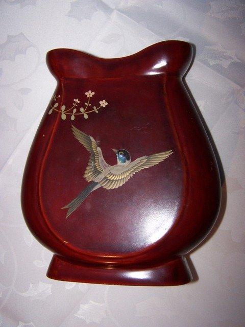 44A: Maruni Lacquerware Vase