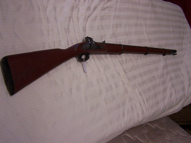 5: Rubber Musket Rifle Movie Prop