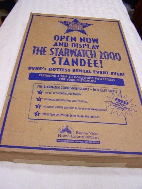 6: Starwatch 2000 Movie Standee