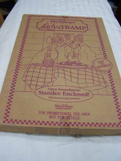 7: Lady and the Tramp Standee