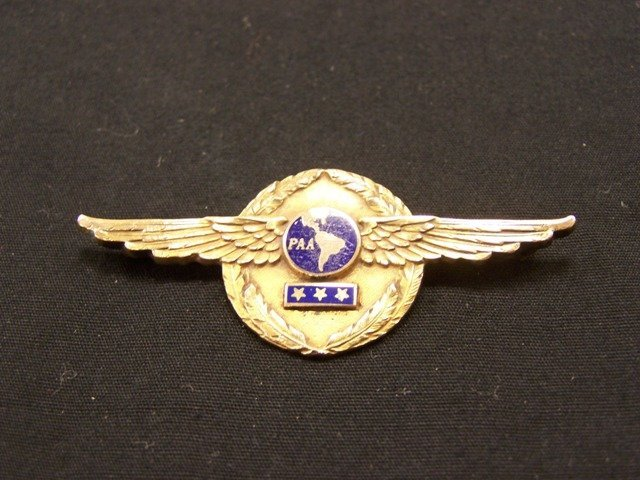 Rare Pan AM 2nd Issue Master Pilots Wing