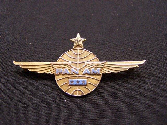 Rare Pan Am 4th Issue Senior Pilots Wing