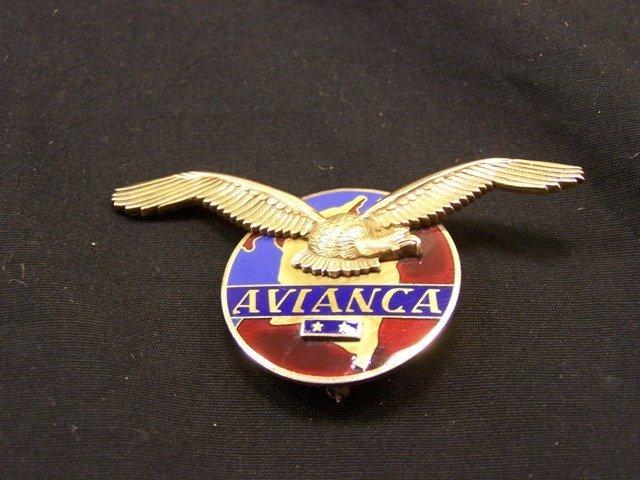 Rare Avianca Pilots Wing