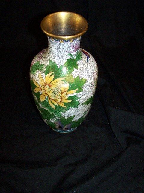 Vintage Cloisonné Vase