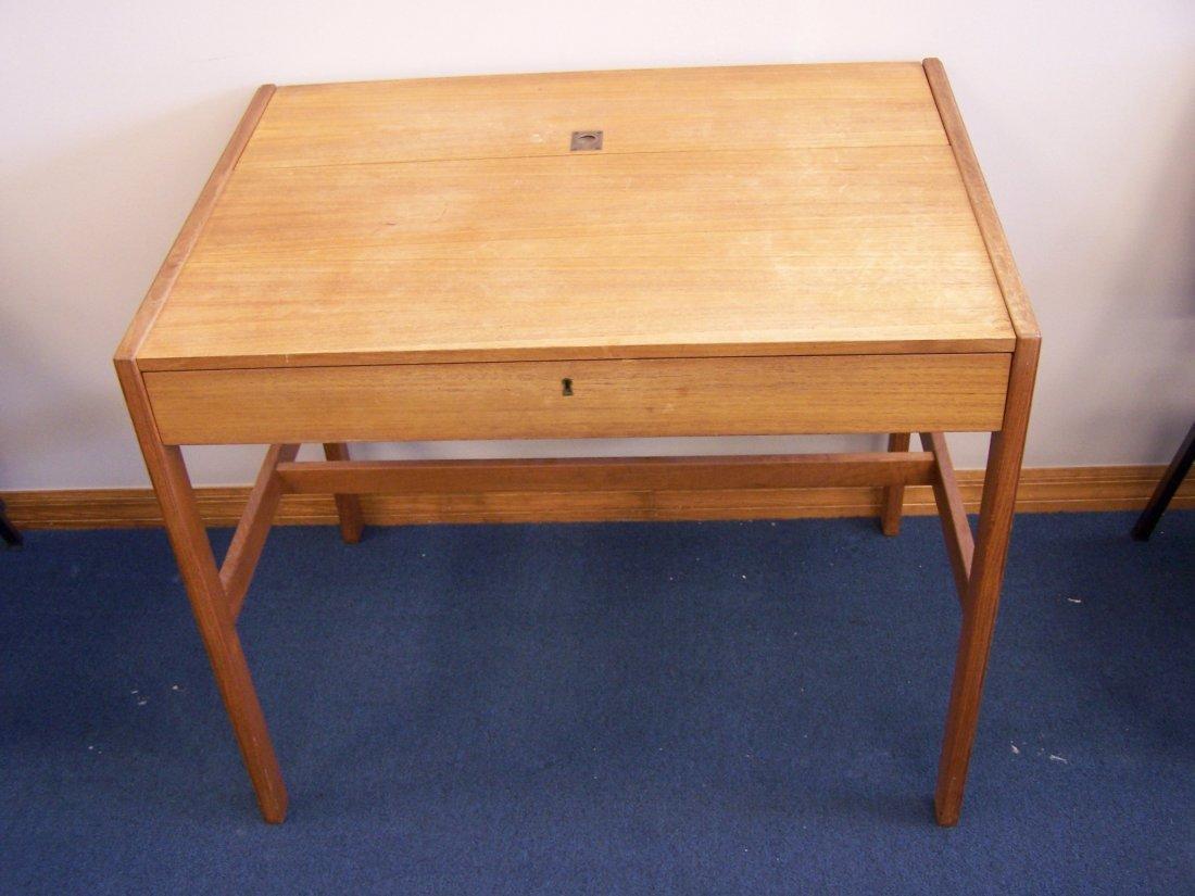 Danish Modern 1960's Teak Desk