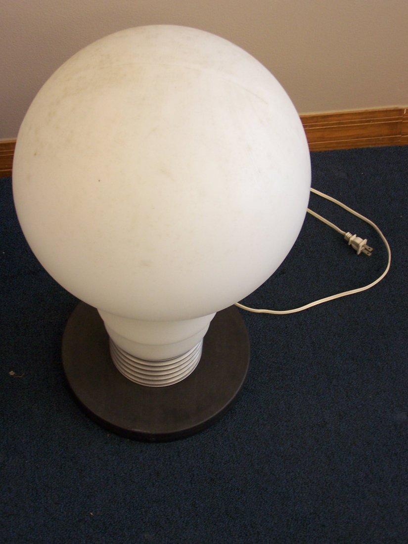 Vintage Plastic LightBulb Lamp