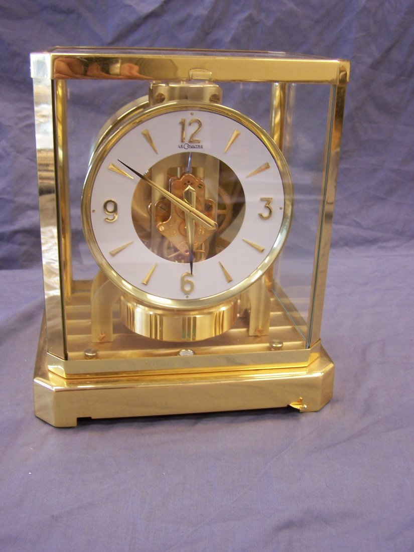 1960's Lecoultre Atmos Clock 15 Jewels