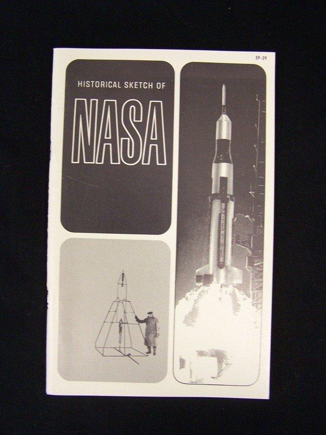 1965 History Sketch of NASA EP-29 Book