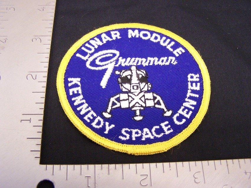 Grumman Lunar Module Kennedy Space Center Patch