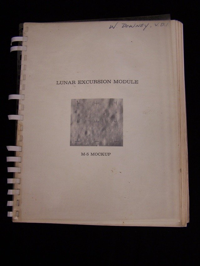 Grumman Lunar Excursion Module M-5 Mockup Manual