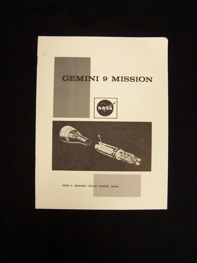Gemini 9 Mission Handout