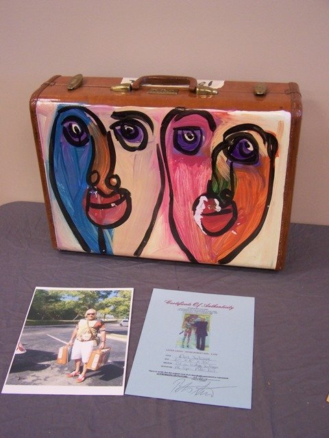 Listed Artist Peter Robert Keil Elvis Suitcase