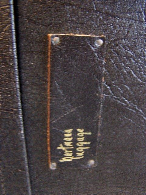 Rare Vintage  Hartmann Leather Luggage - 5