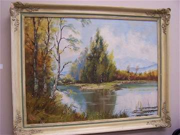 Listed Artist Josef Lehner Vienna Original Oil Painting