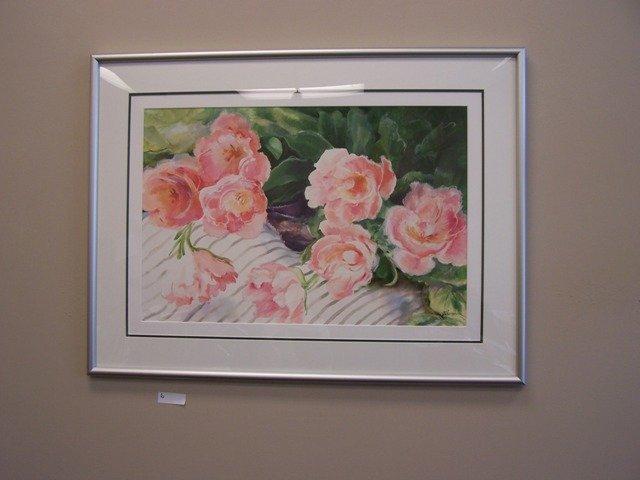 Original Floral Painting by J Schumacher