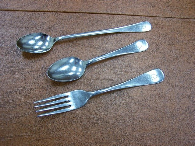 Vintage Ford Motors Stainless  Flatware