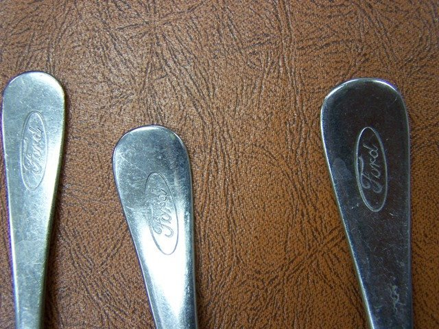 Vintage Ford Motors Stainless  Flatware - 2