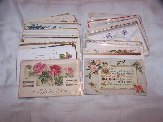 Collection Victorian & Art Deco Post Cards