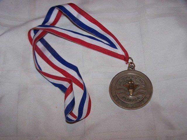 Rare NASA US Space Camp Florida Medal
