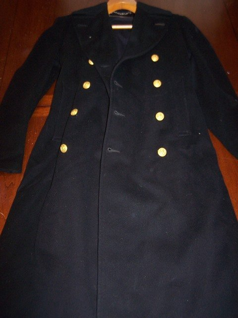 Rare WW1 ?  US Navy pea coat officer
