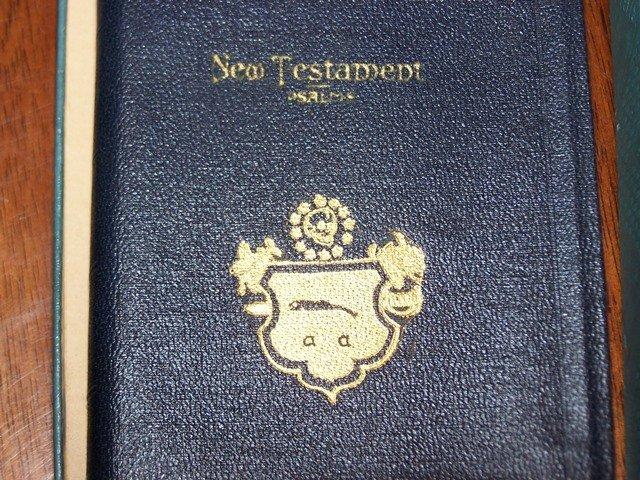 Unique Military New Testament Bible World War Era
