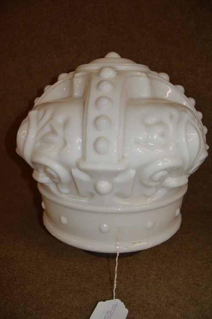 Royal Crown Gas Figural Gas Globe