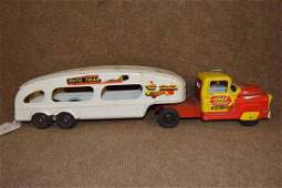Marx/Lumar Tin Transport Company Car Carrier Truck