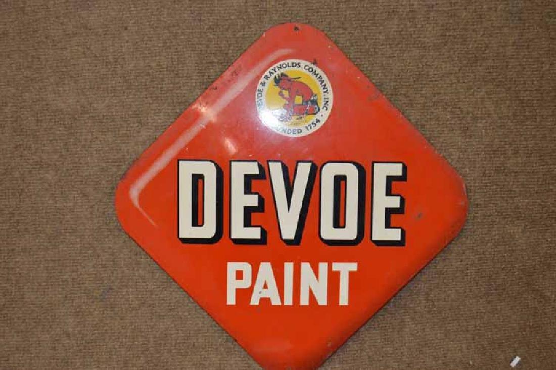 Devoe Paint Sign
