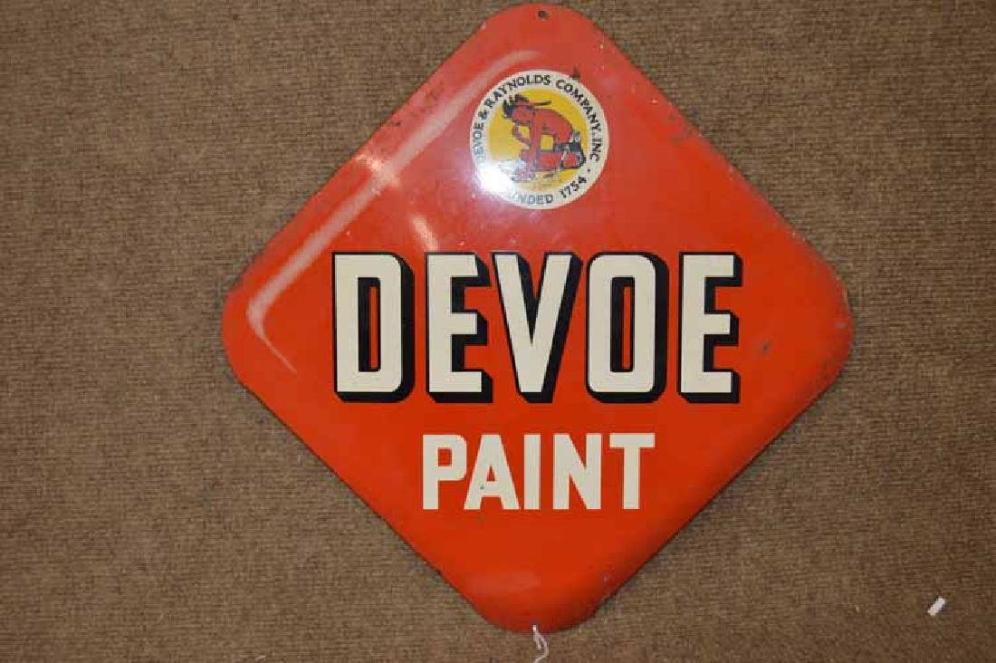 Devoe Paint Sign - 2