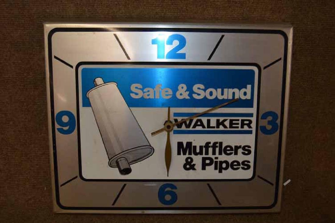 Walker Muffler Clock