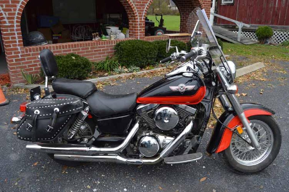 2004 Kawasaki Vulcan Motorcycle