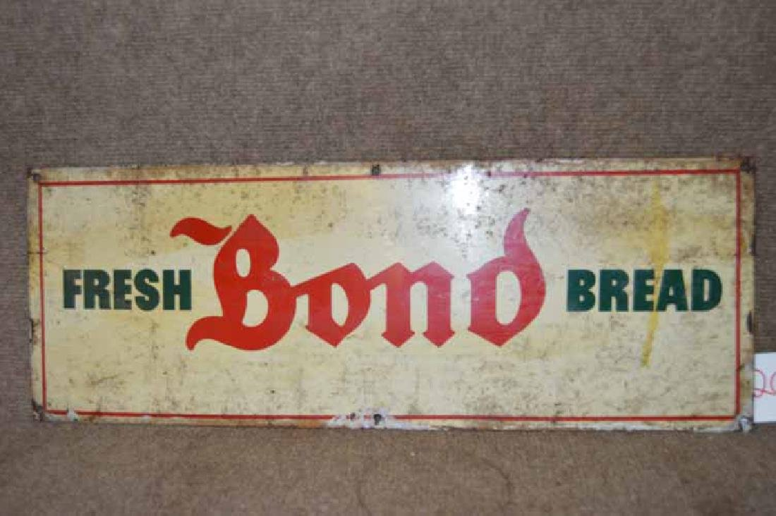 Tin Fresh Bond Bread Sign