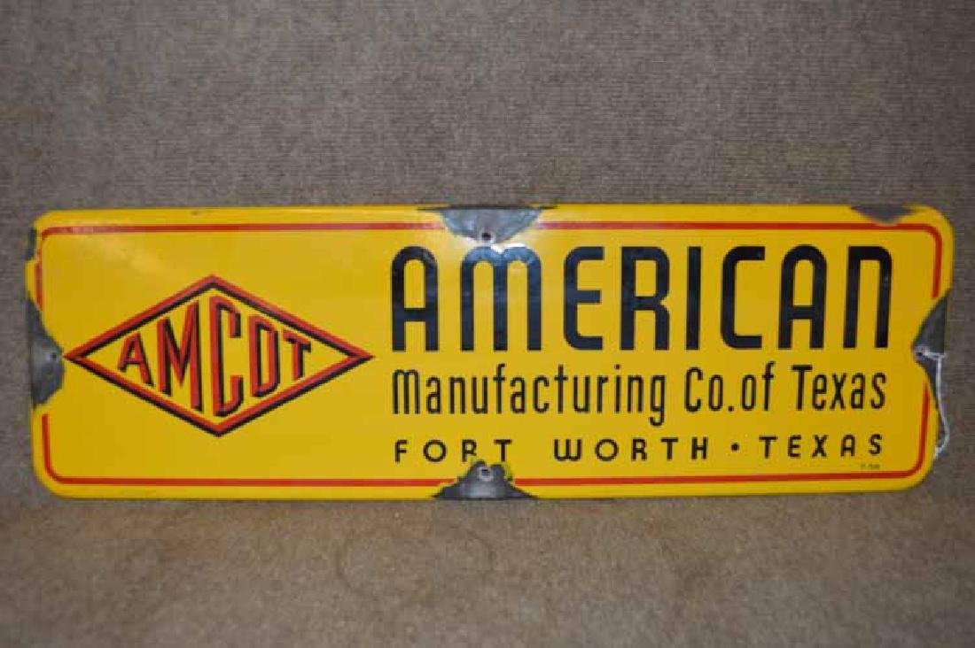 Porcelain American Manufacturing Co. of Texas (Amcot)