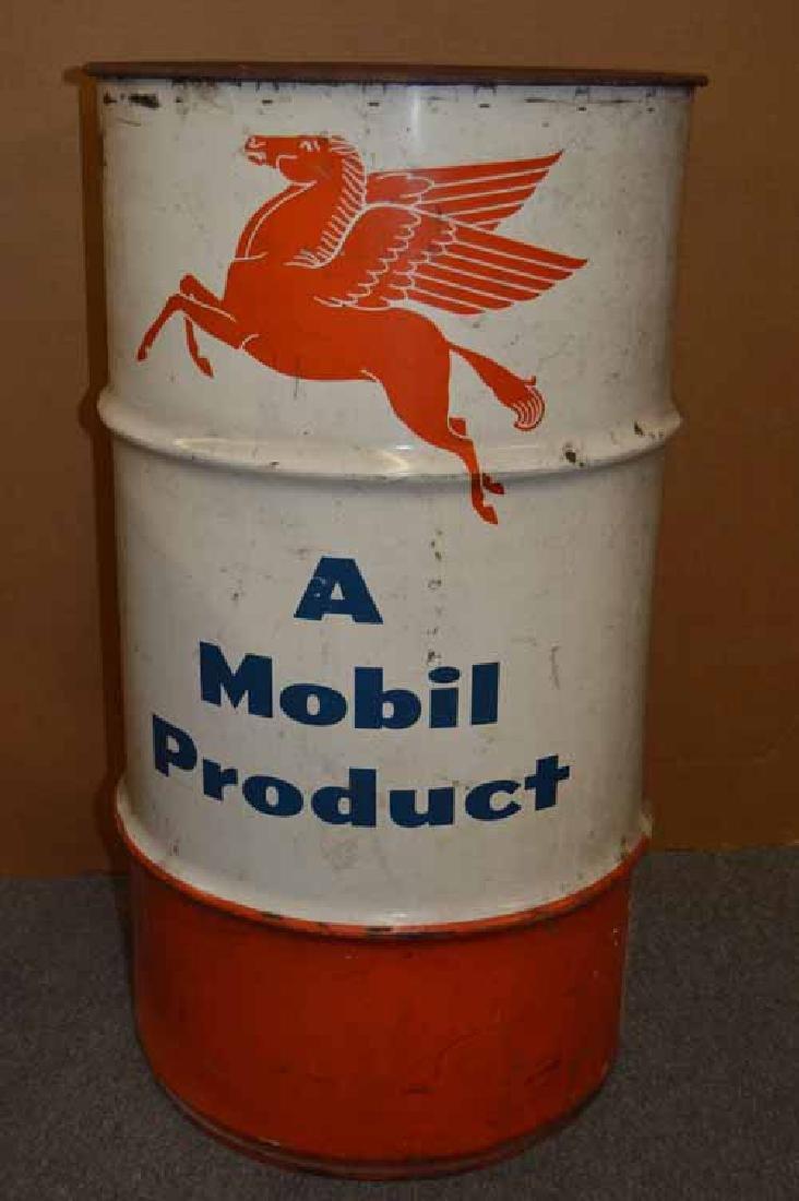 Mobil 16 gal Drum