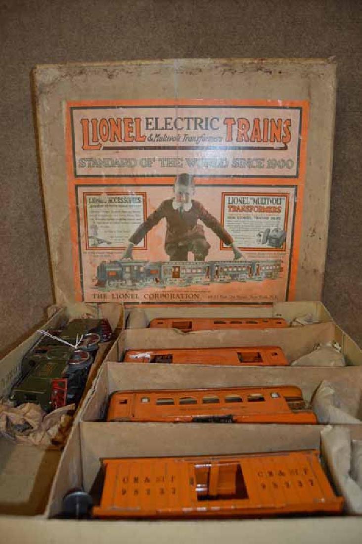 Lionel Standard Gauge #352 T (5 Pc) Train Set in