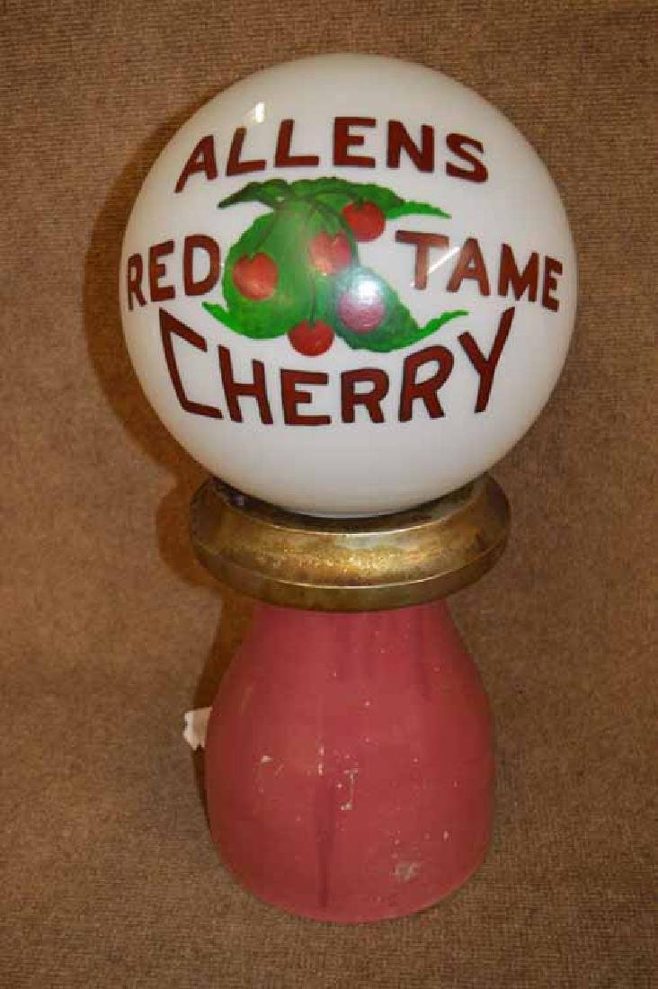 Allens Red Tame Cherry Inc. Parts Ceramic Dispenser. - 3