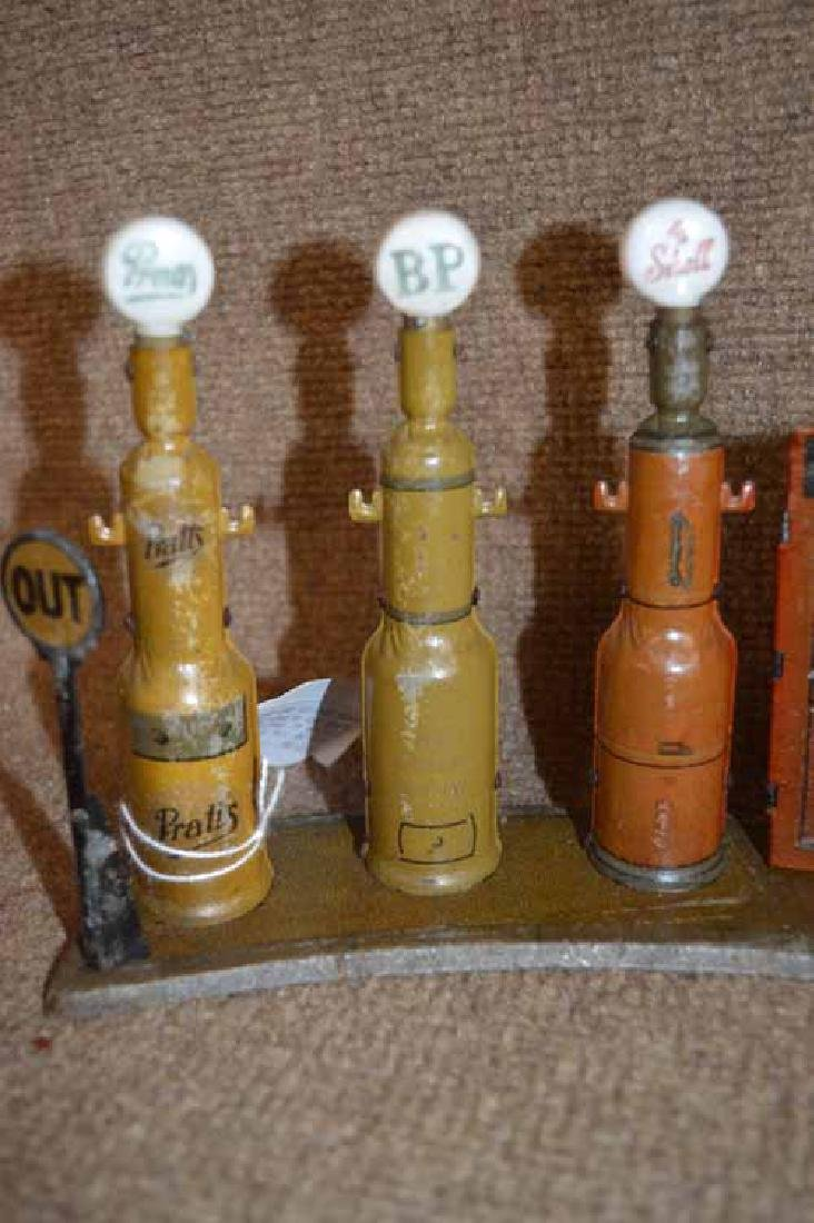 Tin Toy Gas Pump Station - 3