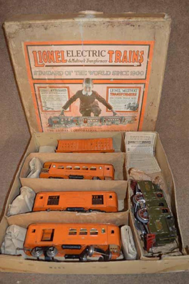 Lionel Standard Gauge 5 Piece Train Set No. 352T