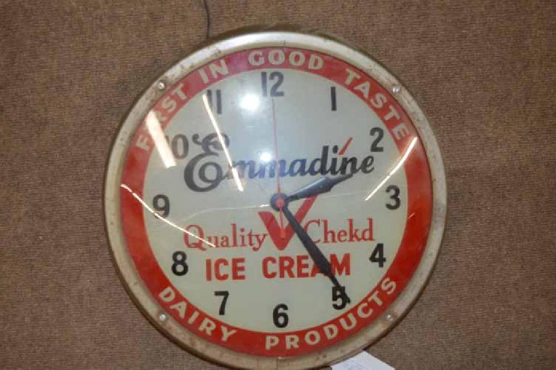 Emmadine Ice Cream Clock.