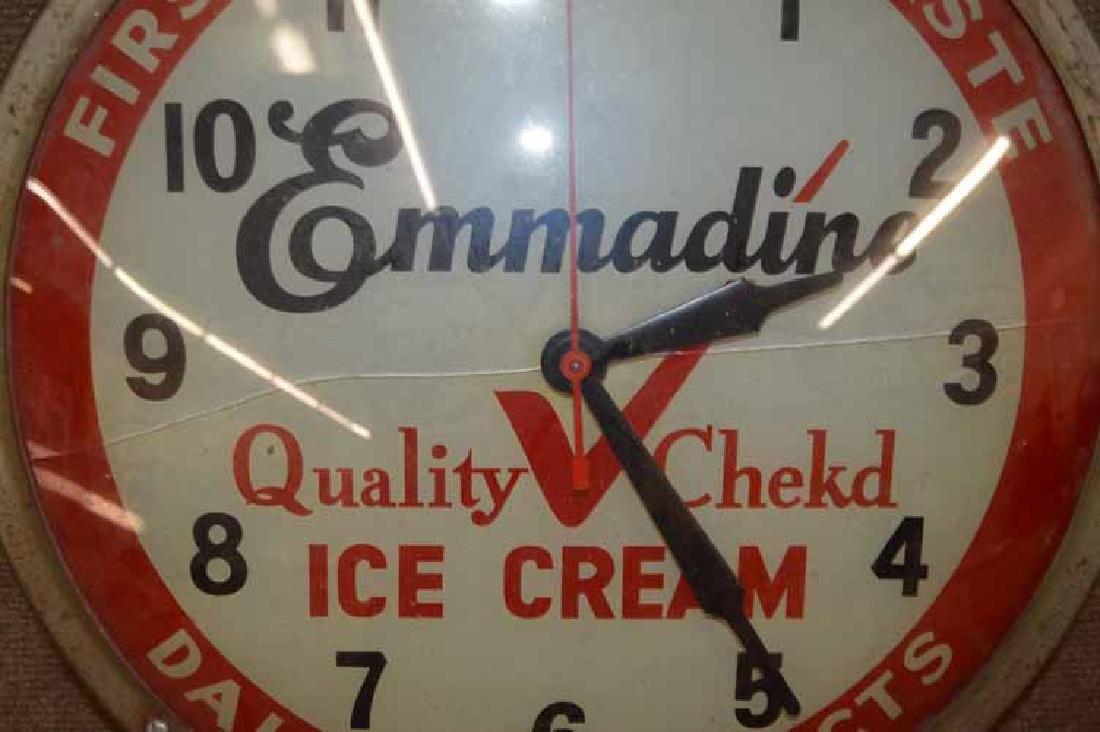 Emmadine Ice Cream Clock. - 2