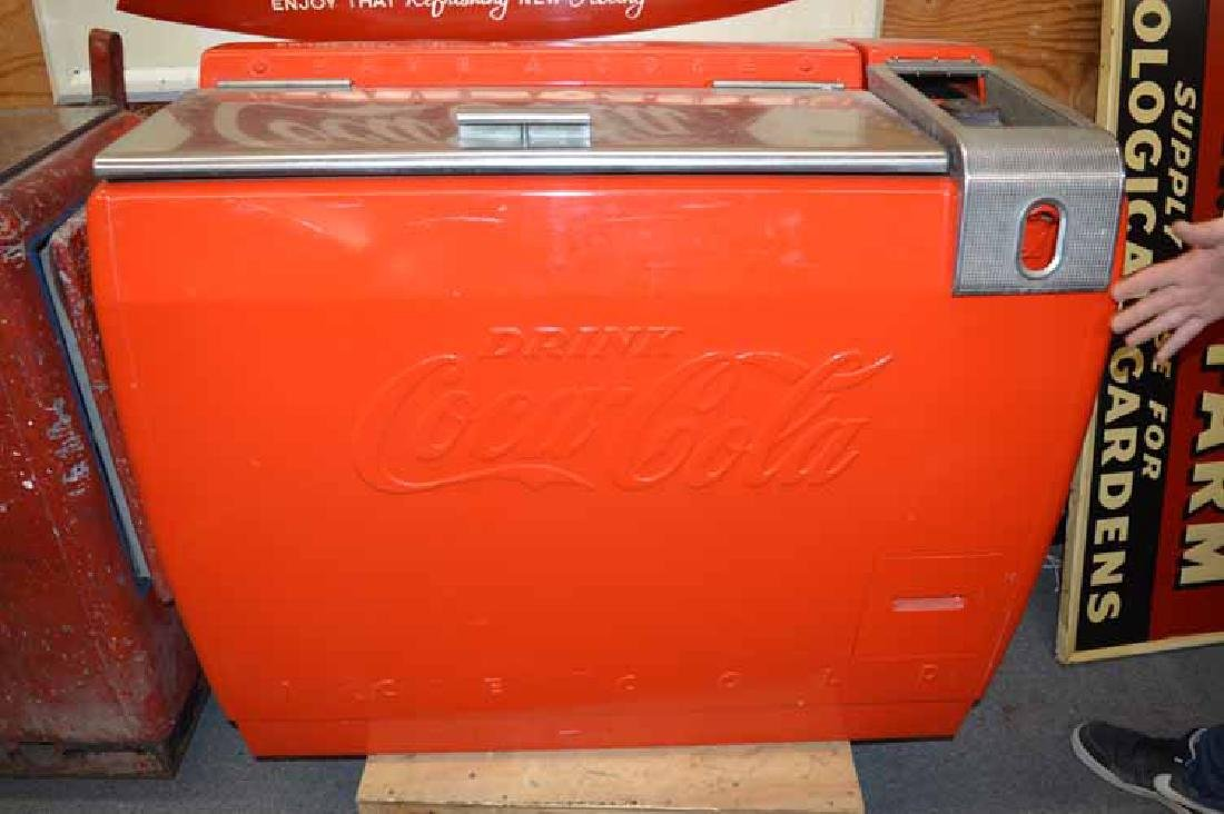 1950's Westinghouse Drink Coca-Cola Cooler