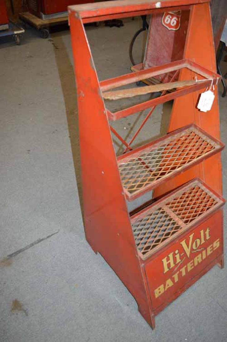 Hi-Volt Batteries Tin Display Rack - 3
